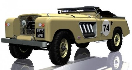 V16 Merlin powered Land Rover Custom image gallery and details | The Motor Report