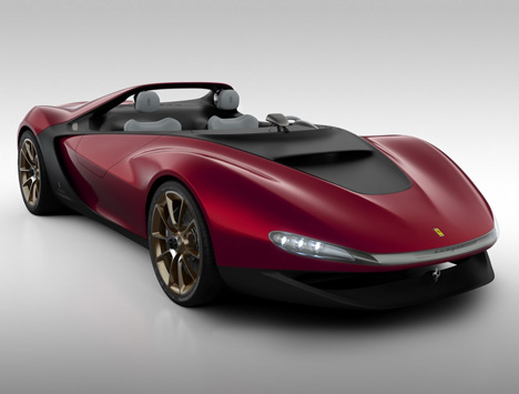 Sergio windshield-less concept car by Pininfarina