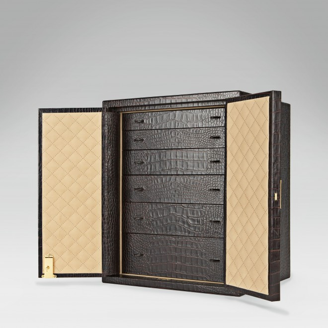 Jewellery Cabinet, Leather Boxes, Smythson