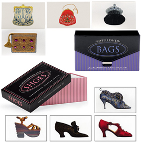 SHOES AND BAGS EMBELLISHED NOTE CARDS SET