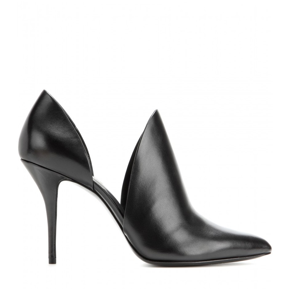 mytheresa.com - Leva leather pumps - High heel - Pumps - Shoes - Alexander Wang - Luxury Fashion for Women / Designer clothing, shoes, bags