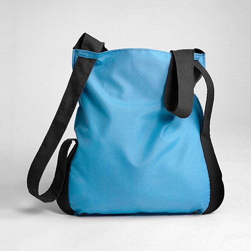 Two Color Poly Notabag – Notabag