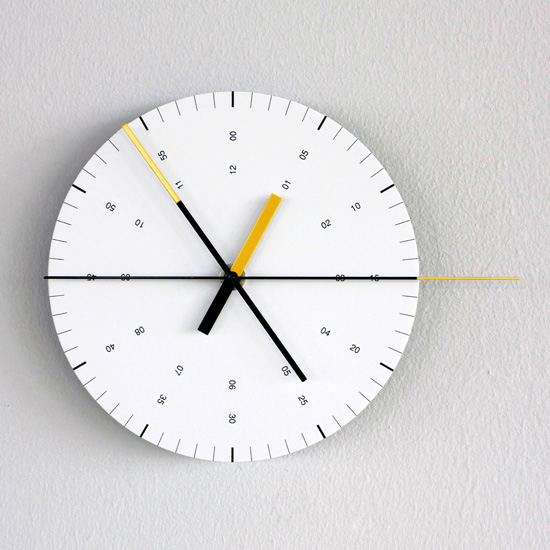 Hundreds Tens Units / Products / Wall Clock