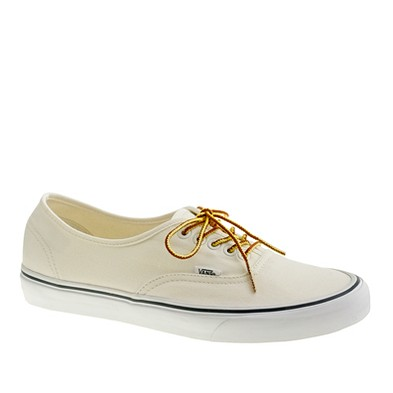 Vans® for J.Crew canvas authentic sneakers - Vans - Men's J.Crew in good company - J.Crew