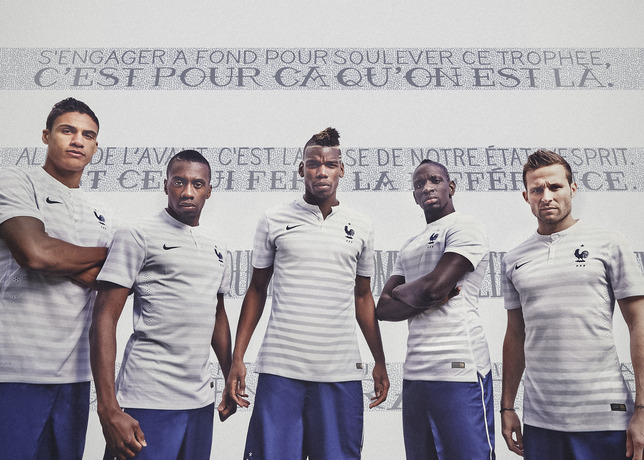 NIKE, Inc. - French Football Federation Unveils New Nike Away Kit for 2014