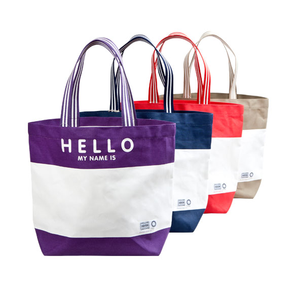 HELLO TOTE BAG | FLAVOR design |「フレーバーデザイン」