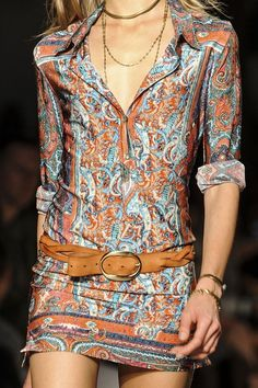 Embellished skirts. Isabel Marant Fall 2013 RTW Collection | My Style