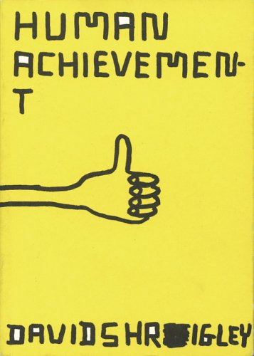 Amazon.com: Human Achievement (9780811856225): David Shrigley: Books
