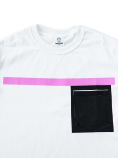 LOVE online store|WOMEN | TOGA Rubber Pocket Tee (pink)