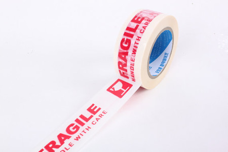 Printed Message Fragile Handle with Care Box Sealing Tape 330 Feet / 110 Yards