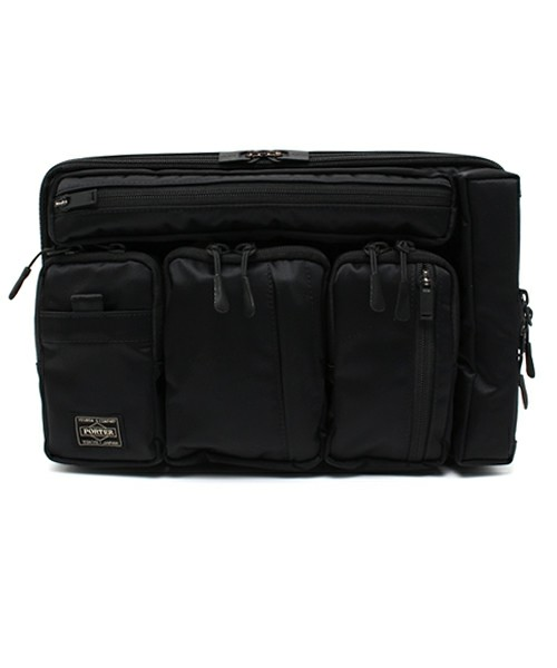 B印 YOSHIDA(×PORTER)(B印 ヨシダ(×ポーター)) - White Mountaineering×PORTER×B印 YOSHIDA Urban Supply Series:11inch PC CASE NEW(クラッチバッグ)|ビームス公式通販[BEAMS Online Shop]