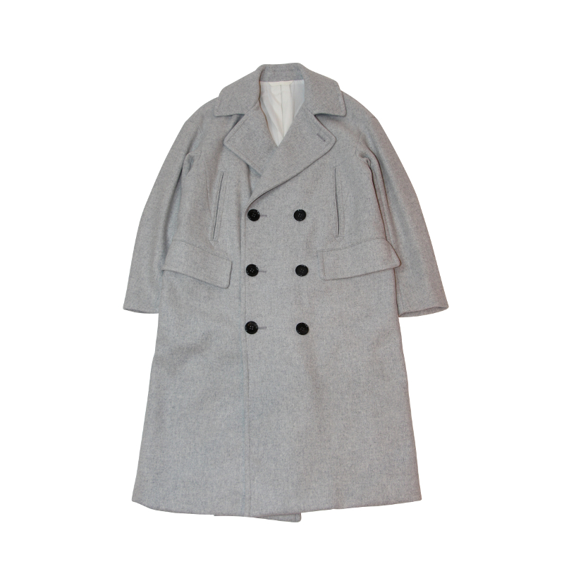WOMENS :: COAT :: MY LONG P-COAT [GRAY]