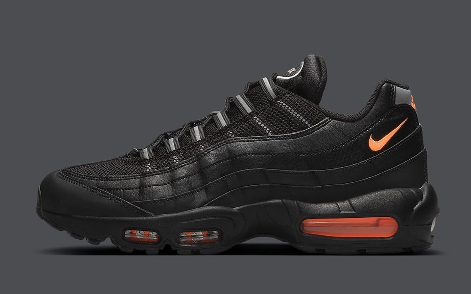 Air Max 95 Appears in Black and Orange - HOUSE OF HEAT | Sneaker News, Release Dates and Features