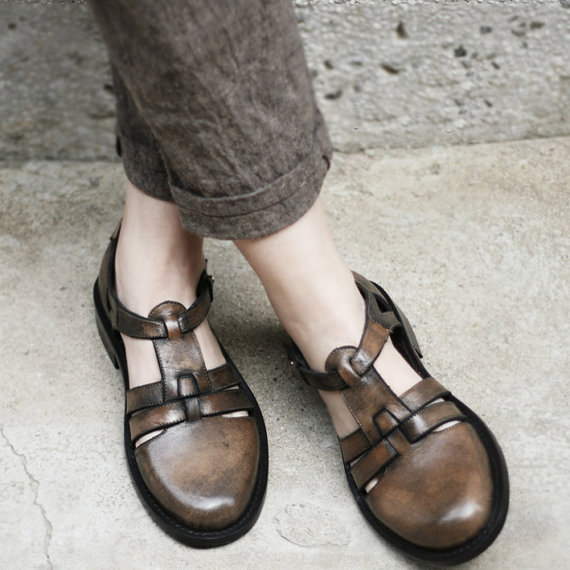 Handmade Leather Shoes by KiMiLab on Etsy