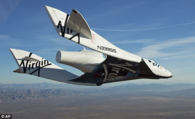 London to Sydney in TWO hours: Virgin Galactic space flight technology could be used to build new generation of super jets to replace Concorde | Mail Online
