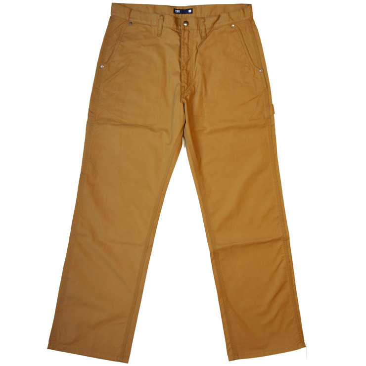 CHINO PAINTER -BEIGE- | THE FABRIC | ONEline store