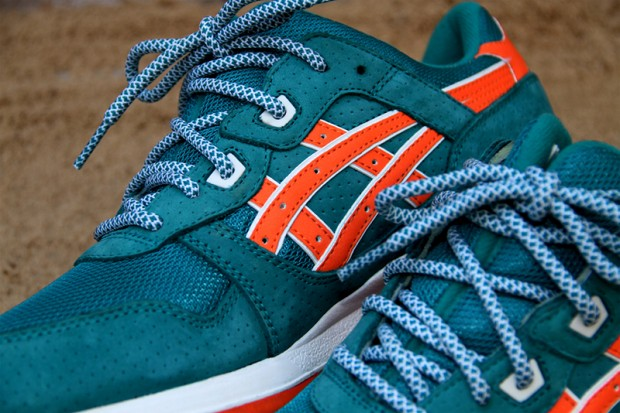 Ronnie Fieg x ASICS GEL-Lyte III - Teal/Orange | Sole Collector