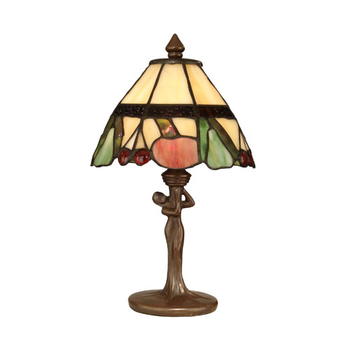 Antique Bronze Paint Tiffany Fruit Accent Lamp Dale Tiffany Accent Lamp Table Lamps Lamps