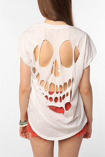 UrbanOutfitters.com > Truly Madly Deeply Cutout Back Tee