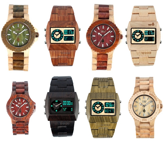 Buy A Wooden WeWOOD Watch And They'll Plant A Tree | Be Sportier
