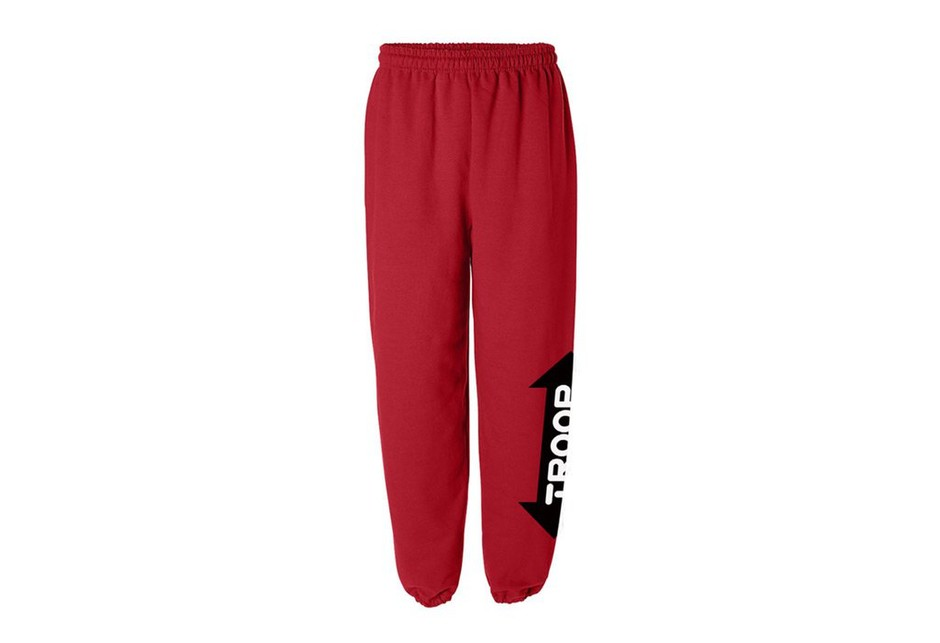 World of Troop | TROOP Jogger Pant Red/Gold