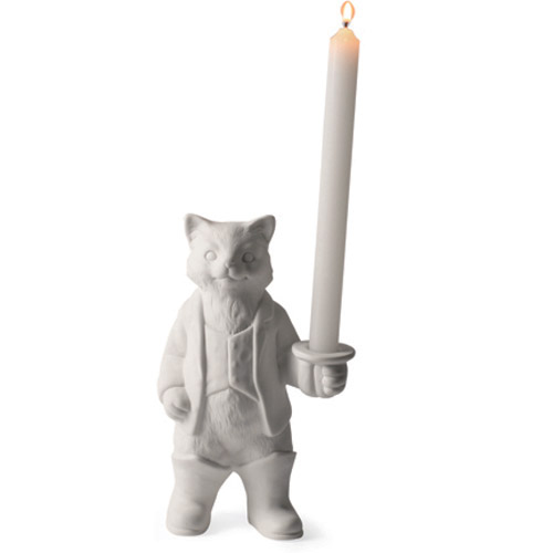 RawSpace :: Designer Gifts :: Candle Holder - Puss in Boots