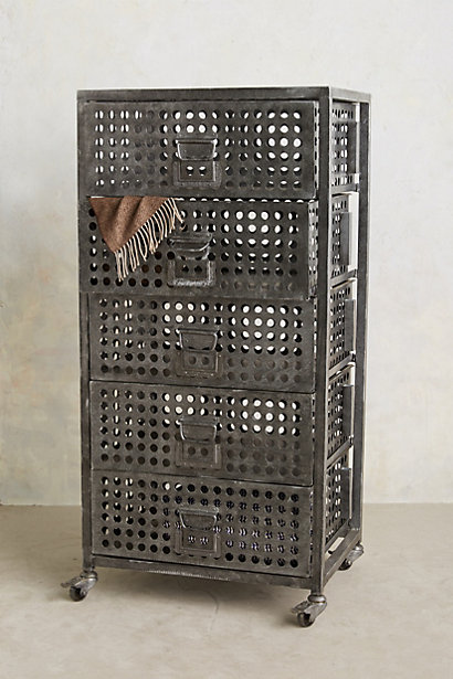 Galvanized Dresser - anthropologie.com