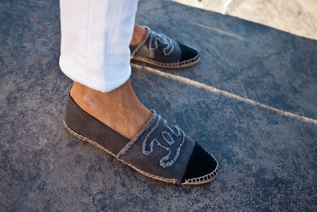ON THE STREET Las Vegas | CHANEL Espadrilles - WILLIAMYAN.COM - Blog - WILLIAMYAN.COM