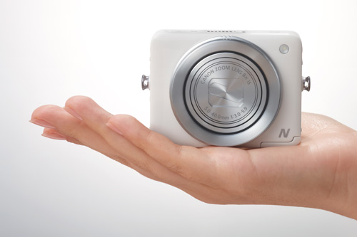 Canon PowerShot N is a Smartphone's Sidekick Camera - HardwareZone.com.ph