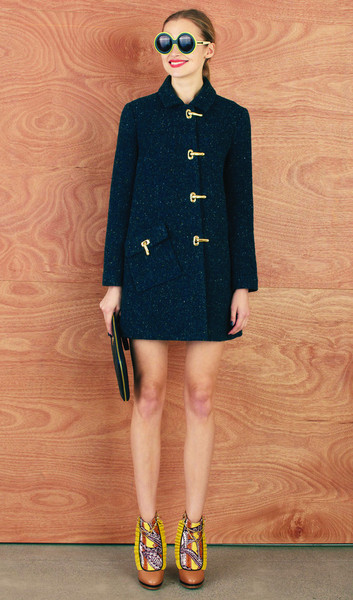 Karen Walker | Clasp Coat with Pocket