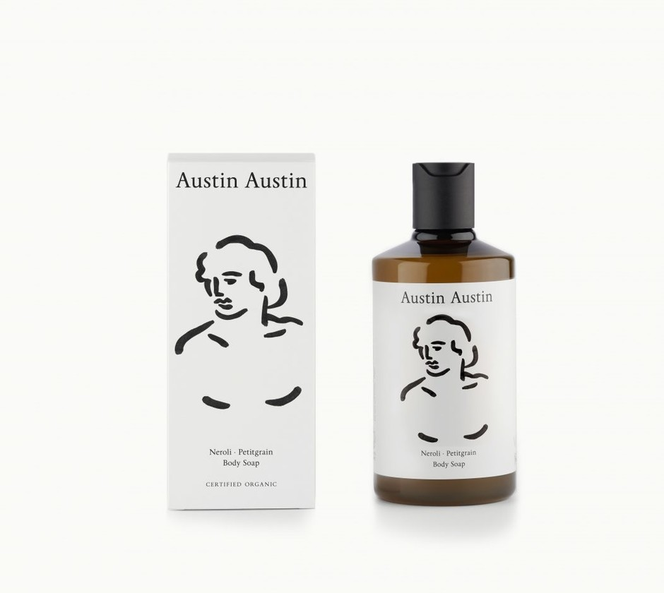 Austin Austin Organic - A new collection for hands, hair and body, all certified Organic by the Soil Association. - Austin Austin Organic