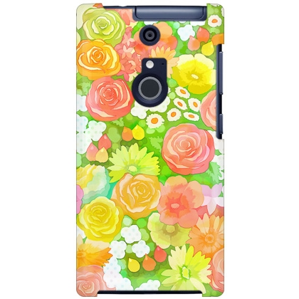 uistore「Rose&Flower(colorful)」 / for ARROWS NX F-01F/docomo