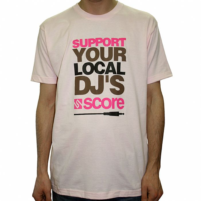 score support your local dj t shirt sumally サマリー