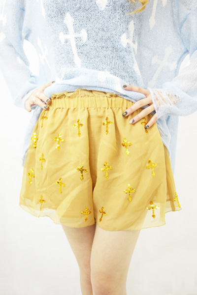 【WILDFOX】ROMEO AND JULIET SHORT/DUST STORM[WCC329Q06] | LADY'S | PANTS | FAKE TOKYO.com