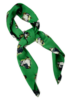 LOVE online store|WOMEN | Karen Walker  Scarf (green)