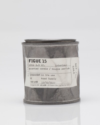 """Les Interieurs / LeLabo: $60 """"Figue 15"""" Hand poured, highly scented soy wax candle. Scented figue/black currant blend."""