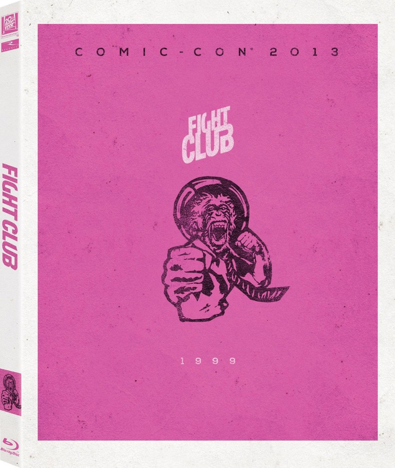 Amazon.com: Fight Club Blu-Ray with Limited Edition Comic-Con Artwork and Slipcover: Movies & TV