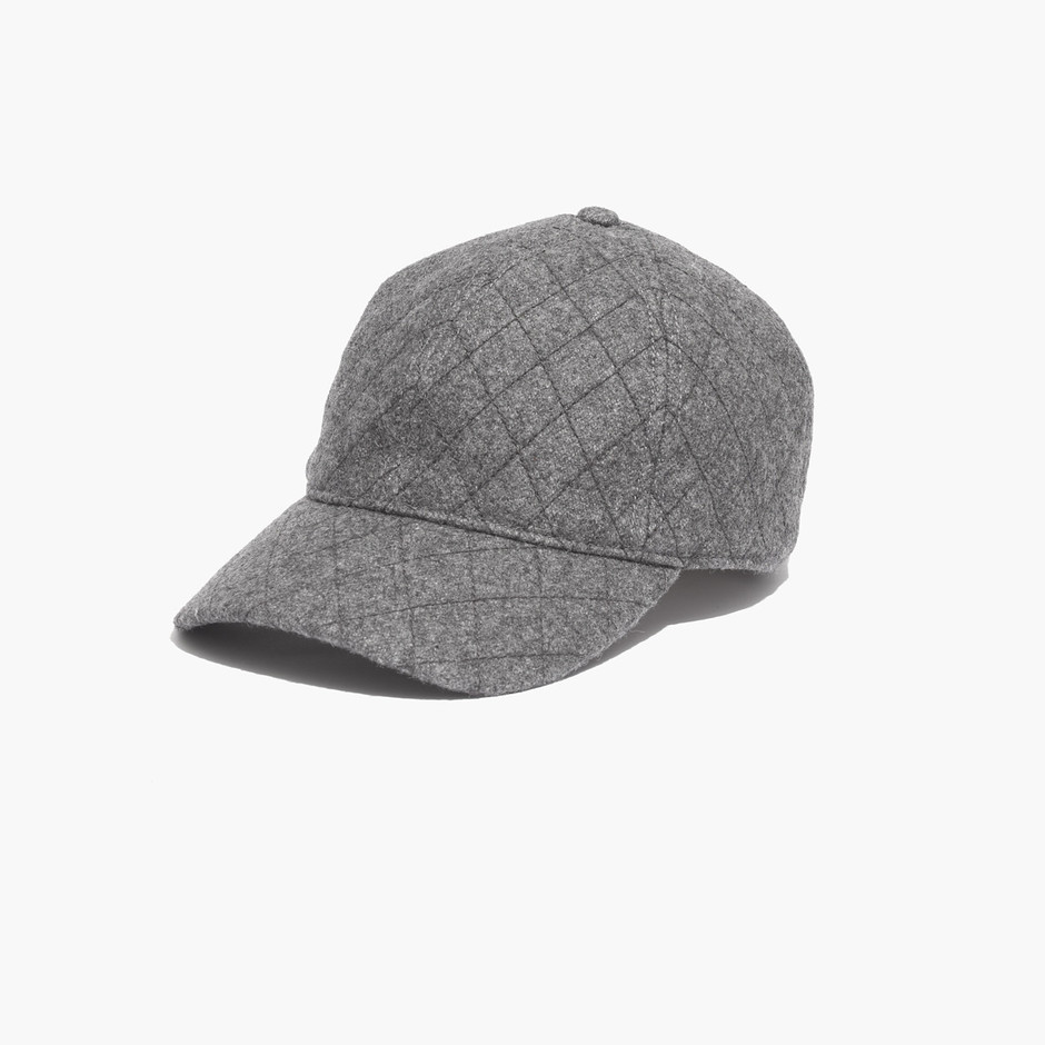 Quilted Baseball Cap : hats   Madewell