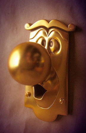 """Alice in Wonderland"" Door Knob"