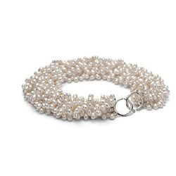 Paloma Picasso torsade. Cultured freshwater pearls. Silver. | ThisNext