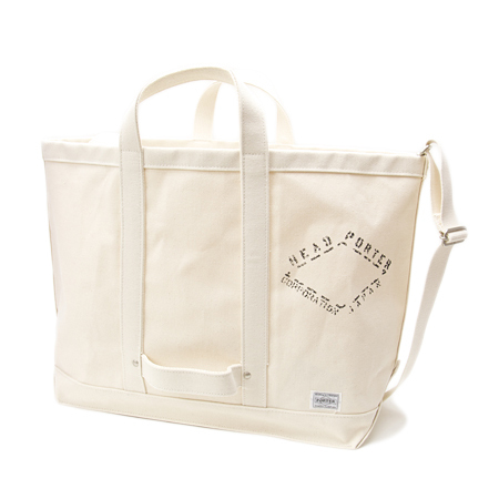 TOTE BAG CANVAS HEADPORTER OFFICIAL ONLINE STORE ヘッドポーター オンラインストア