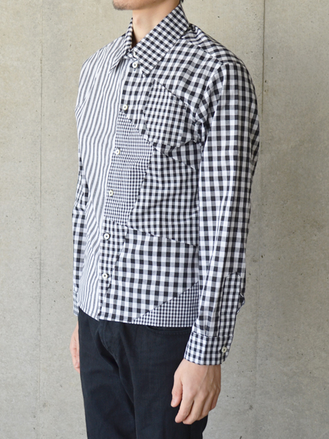 wed - 【wed】Switch Gingham Check Shirts