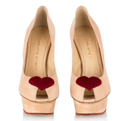Charlotte Olympia Be My Valentine collection Delphine heels blush 5 | Fashion | Vogue