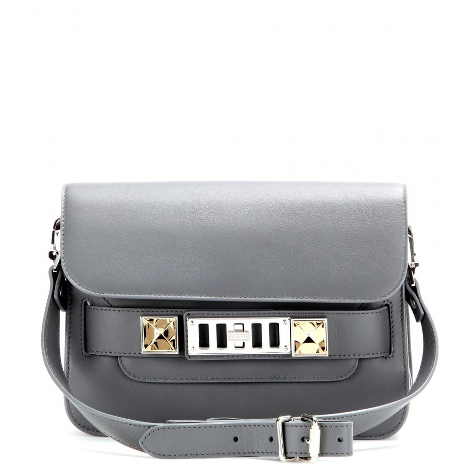 mytheresa.com - PS11 Mini Classic leather shoulder bag - Current week - New Arrivals - Luxury Fashion for Women / Designer clothing, shoes, bags