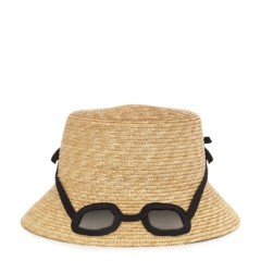 Kate Spade - straw sunglass hat by honey : MONOCLIP(モノクリップ)
