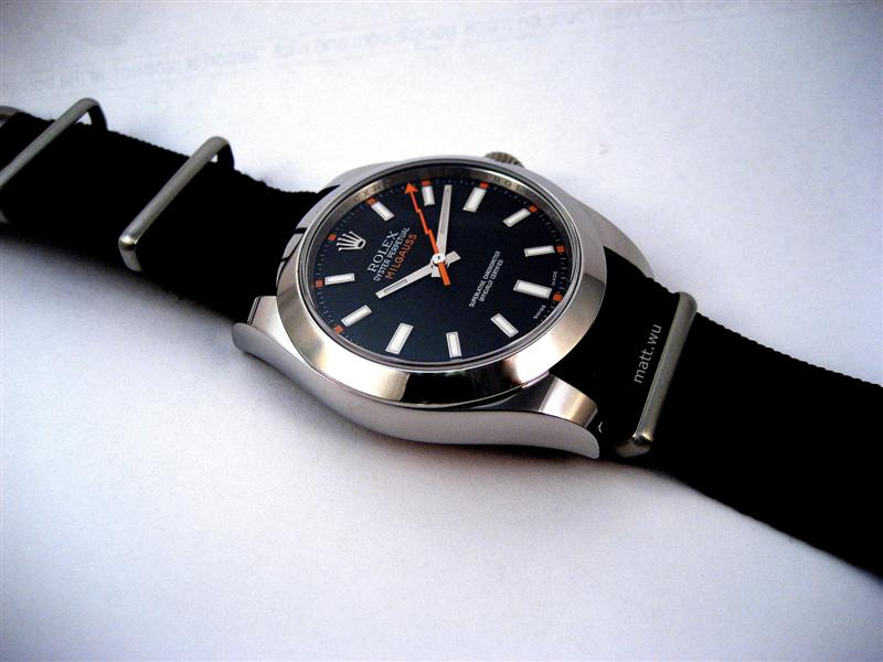 The Dive Watch Connection • View topic - PICS: Rolex Milgauss - ref. 116400