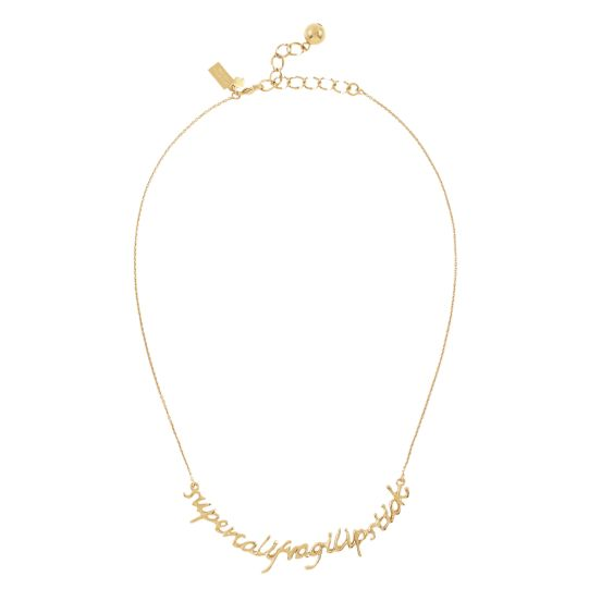 kate spade | necklaces for women - say yes supercalafragilipstick