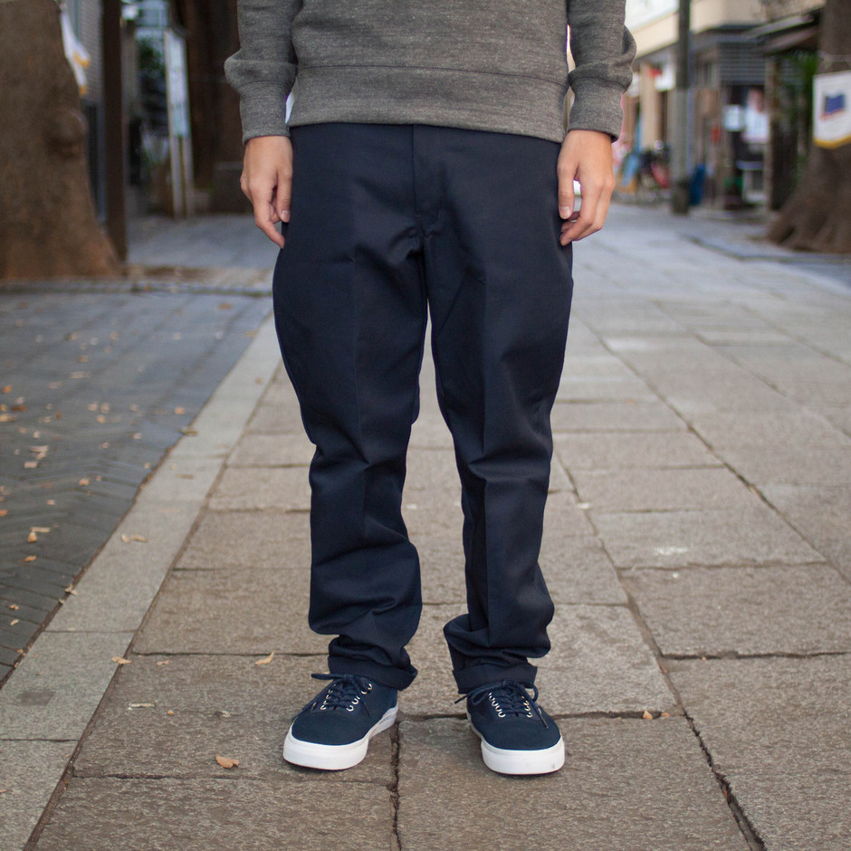 Custom Fit Work Chino  color:Navy  size:30, 32,...