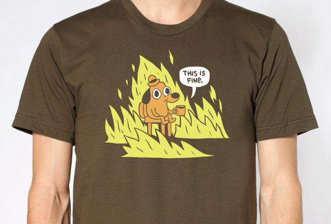 kc green this is fine shirt sumally サマリー