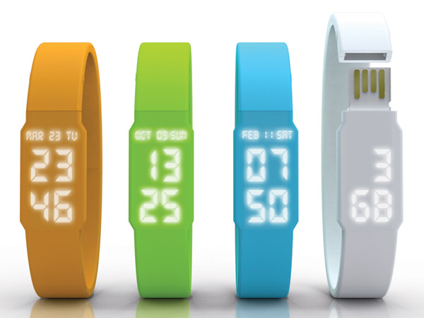 USB Watch by Yoon-jin Gon, Yoon-tae Myoung & Kim Sung Hun » Yanko Design